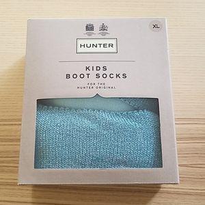 NWT Hunter kids boot socks size XL